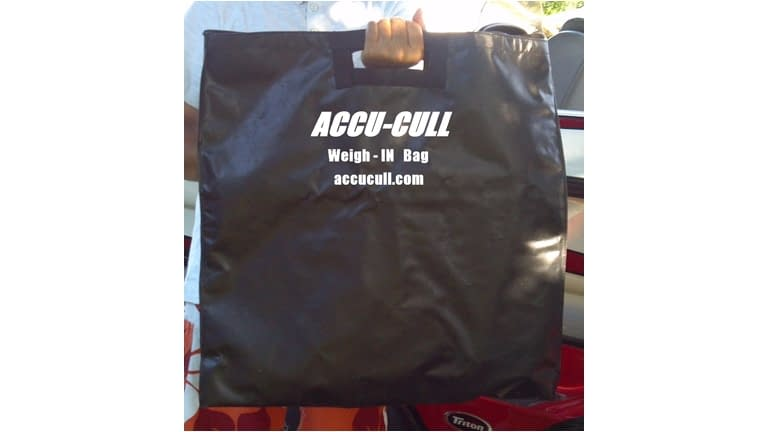 Accu-Cull Weight Bag W/Mesh Liner+Zip