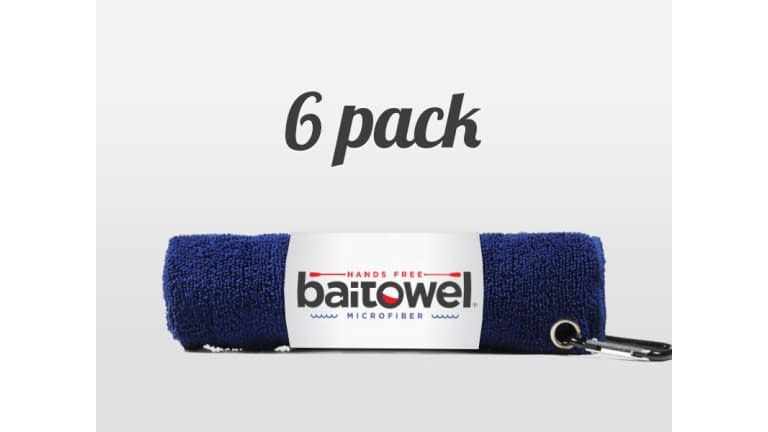 Baitowel Microfiber Fishing Towel - BT-NAVY