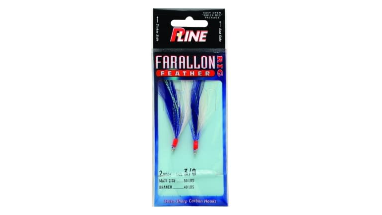 P-Line Farallon Feather - FF50-BLU/WHT