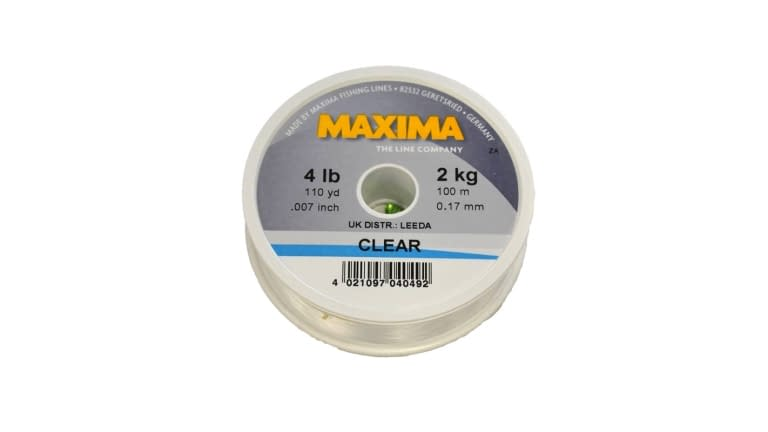 Maxima Clear Monofilament Leader Wheel
