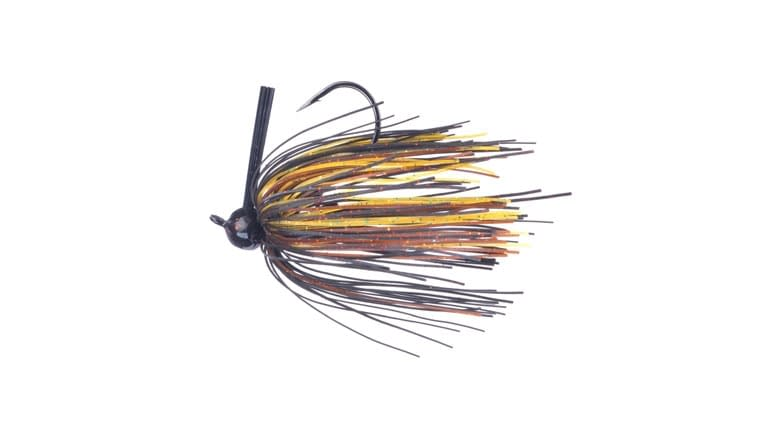 Santone M Series Football Jig - Black/Brown/Amber