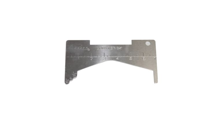 Promar California Crab Gauge