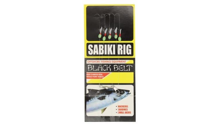 Black Belt Fish Skin Sabiki Rigs - 355-14