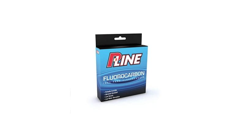 P-Line Soft Fluorocarbon Filler Spools - Clear