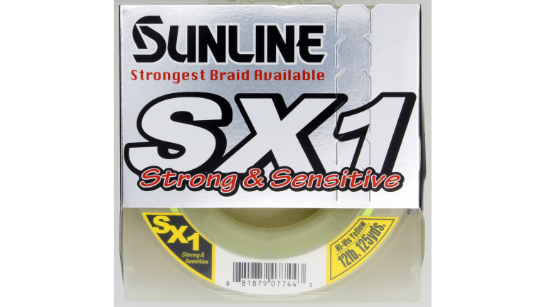 Sunline SX1 Braid 125yd