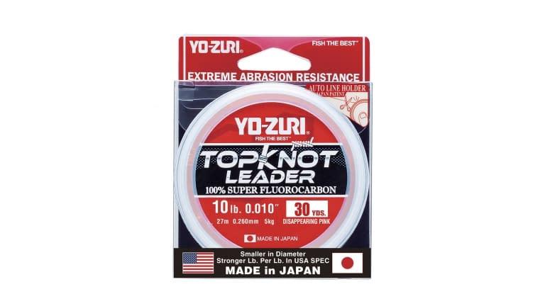 Yo-Zuri Top Knot Leader 30yd - TKLD10LBDP30YD