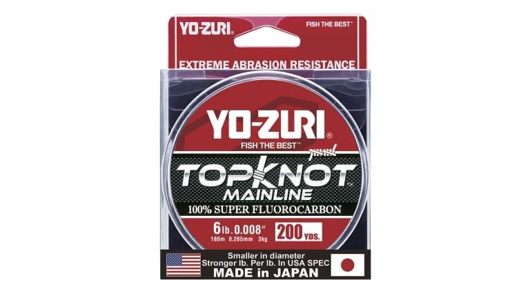 Yo-Zuri Top Knot 200yd - TKML6LBNCL200YD