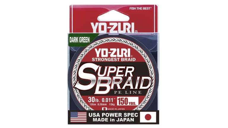 Yo-Zuri Superbraid 150yd - SB30LBDG150